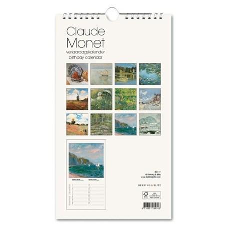 Verjaardagskalender Claude Monet