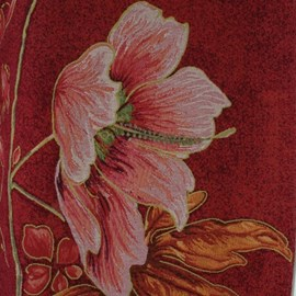 Art Nouveau Wandkleed Altea in paarstinten
