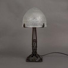 Franse Art Nouveau Tafellamp Papillon