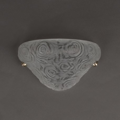 Franse Art Nouveau Wandlamp Roses