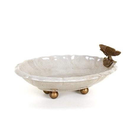 Schaaltje met Vlinder