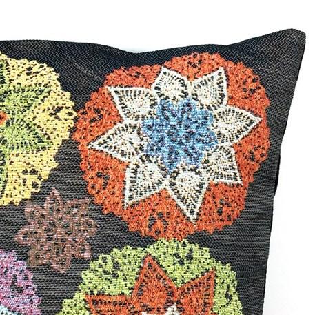 Detail Kussen Crochet Semi