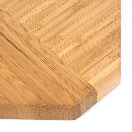Set Bamboe onderzetters/snijplank