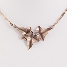 Collier Natuur Brons