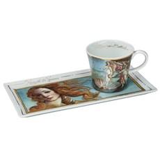 Koffieset De Geboorte van Venus