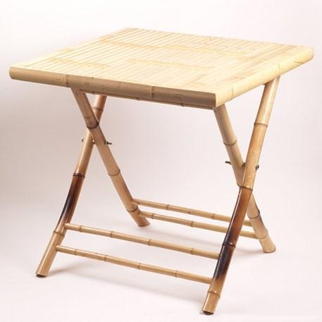 Bamboe Tafel Vierkant