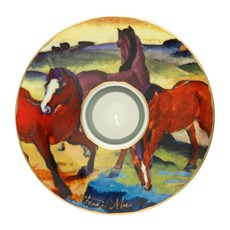 Waxinelichthouder Rode Paarden
