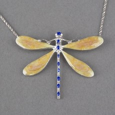 Fluctuatio Emaille Collier