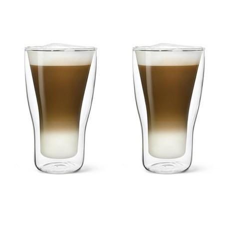 Set van 2 Dubbelwandige Latte Macchiato Glazen