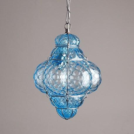 Venetiaanse Hanglamp Kleine Bellezza Aquamarijn