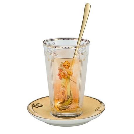 Mucha Latte Macchiato Set Lente