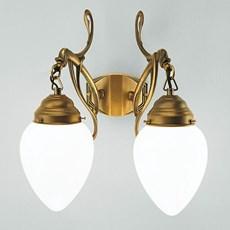 Wandlamp 2-lichts Flora
