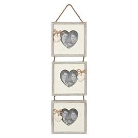 Hangende Trio Fotolijst Hearts