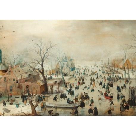 Placemat Blok Winter
