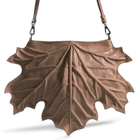 Handtas Maple Leaf Taupe