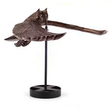 Sculptuur Zwevende Uil