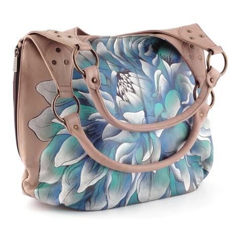 Handtas Blue Flower