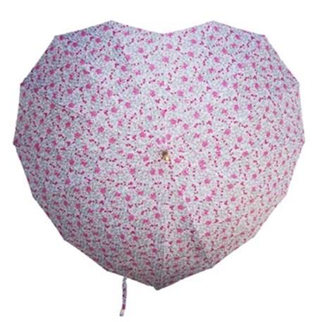 Paraplu in Hartvorm