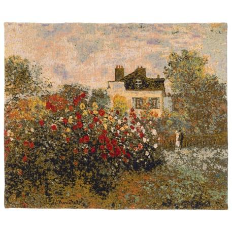 Wandkleed De tuin van Monet