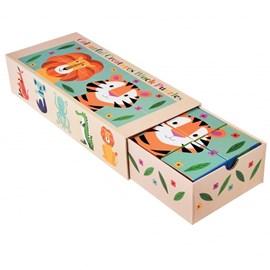 Stapelblokken Puzzel | Colorful Creatures
