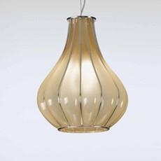 Venetiaanse Hanglamp Druppel   Ambergeel