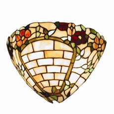 Wandlamp Tiffany Muurbloem