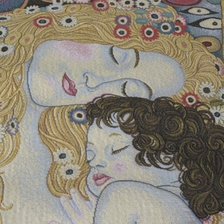 Detail Wandkleed/Gobelin De Levensfasen