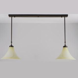 voorbeeld van een van onze T-Hanglampen