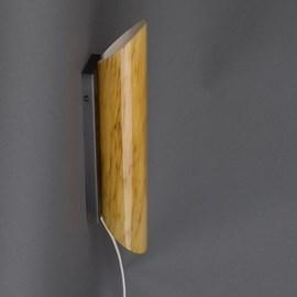 Wandlamp Ronde Buis Marmer