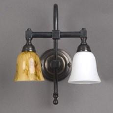 Badkamerlamp Bell 2-Lichts Grote Boog