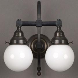 Badkamerlamp Bol 2-Lichts Grote Boog