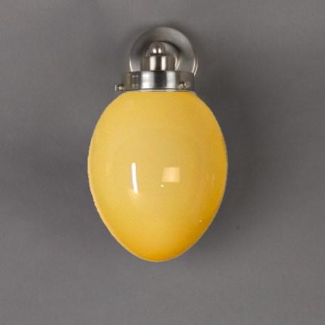 Wandlamp Egg Zachtgeel
