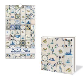 Verjaardagskalender & Kaartenmapje Dutch Tiles