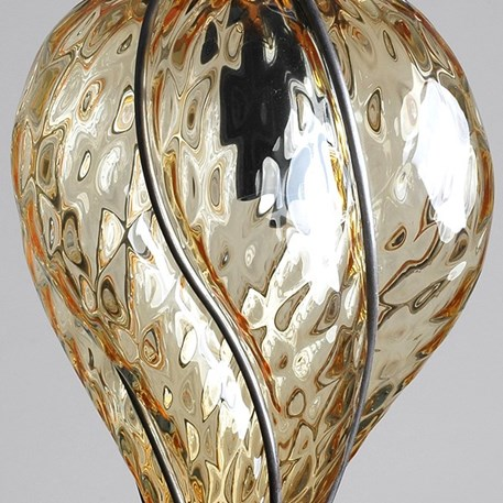 Detail Venetiaanse Hanglamp Kleine Torsi