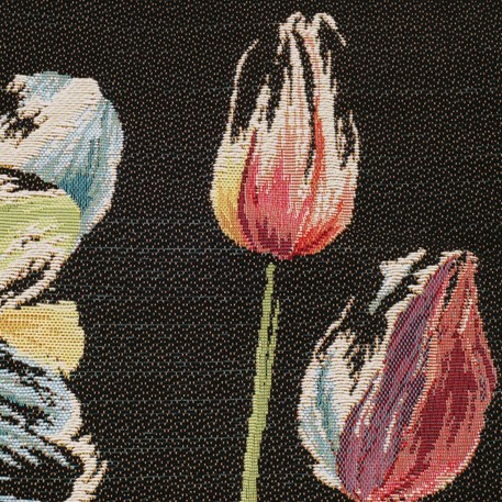 Detail Kussen Three Colourful Tulips