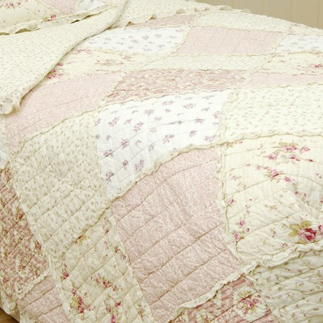 Detail Bedsprei / Quilt Romance