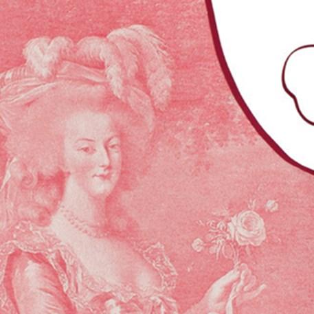 Schort Marie Antoinette Rouge