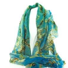 Sjaal Van Gogh 'Amandelbloesem'